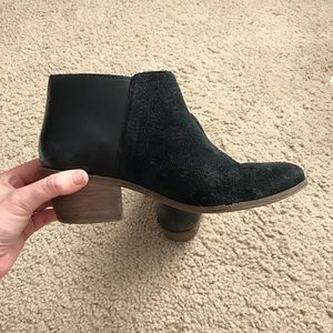 Madewell Black Ankle Boots